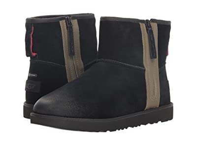 UGG Classic Mini Zip Waterproof (Black) Men