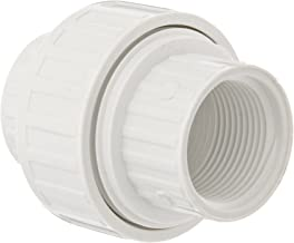 Spears 498 Series PVC Pipe Fitting, Union with EPDM O-Ring, Schedule 40, 3/4