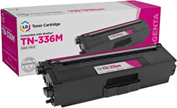 LD Compatible Toner Cartridge Replacement for Brother TN336M High Yield (Magenta)