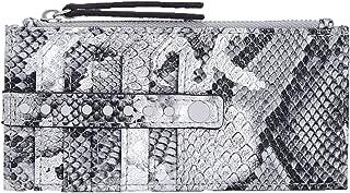 INC International Concepts Glam Metallic Python-Embossed Card Case