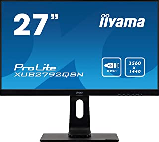 """Iiyama Monitor XUB2792QSN-B1-27"""", IPS, 2560 x1440/75Hz, 1H1DP1C, HAS, Nero"""