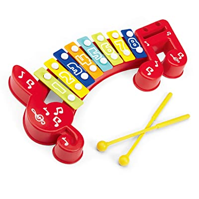 infunbebe 8 Keys Xylophone for Kids Musical Ins...