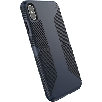 Speck Products Presidio Grip iPhone Xs Max Case, Eclipse Blue/Carbon Black