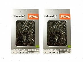 STIHL 26RM3-81 Oilomatic Rapid Micro 3 Saw Chain, 20
