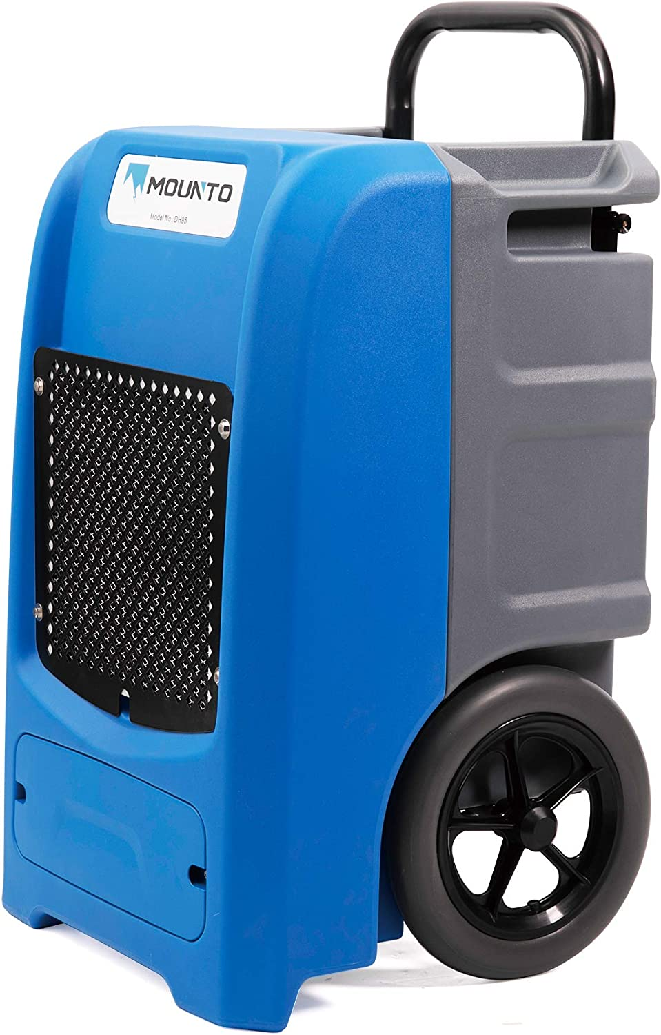 MOUNTO 100Pints Opening large release sale Free shipping on posting reviews Commercial Roto-Mold Basement Dehumidifier with