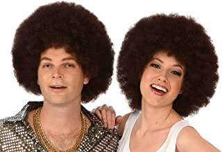 Costume Wigs; Brown Afro Wig; Unisex Afro