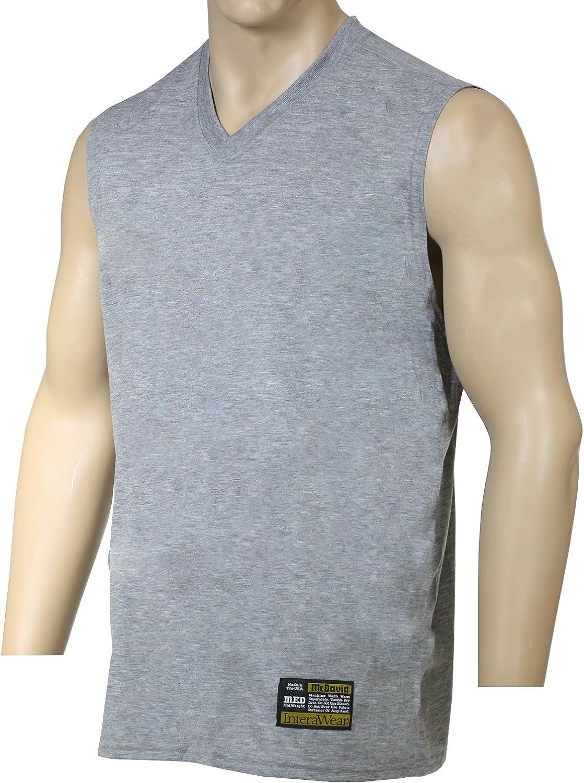 McDavid 934 V Kein Logo V Hals Hals Hals Ärmellos Shirt Grau Medium B01AIUQ2N0  Qualität und Verbraucher an erster Stelle 92c7c2