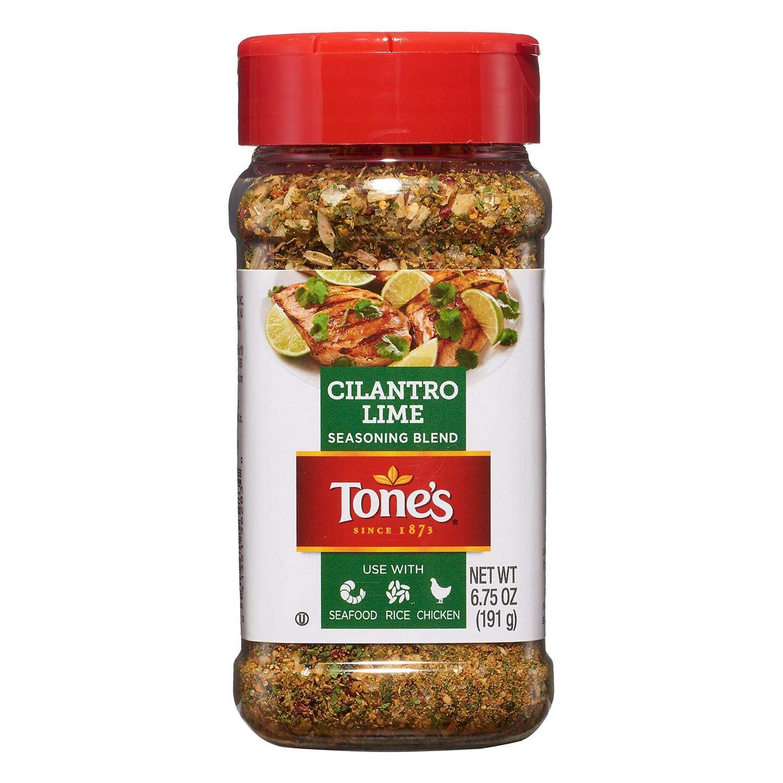 Tone's Cilantro Lime Seasoning 6.75 Free Shipping Cheap Bargain Gift Rapid rise Pack 3 A1 oz.