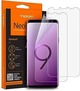 Spigen Neo Flex HD Ekran Koruyucu Galaxy S9 Plus ile Uyumlu / Maksimum Koruma (2 Adet)