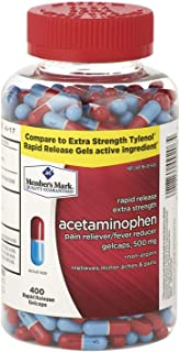 Member's Mark 500mg Extra Strength Acetaminophen (400 ct.)