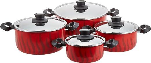 Tefal Tempo Flame Pan Set 18/22/26/30cm