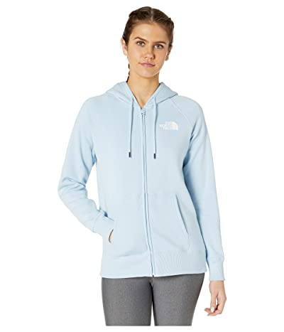 The North Face Half Dome Full-Zip Hoodie (Angel Falls Blue) Women