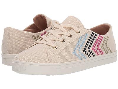 Jack Rogers Luna Sneaker (Ecru) Women