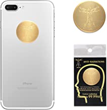 4 Pack - EMF Protection Cell Phone Anti Radiation Protector Sticker, Negative Ions EMF Blocker for Mobile Phones,Laptop and All Electronic Devices