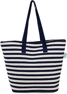 Women's Ladies Canvas Shoulder Tote Handbag, Travel Handbags for Shopper, Daily Purse Tote Bag