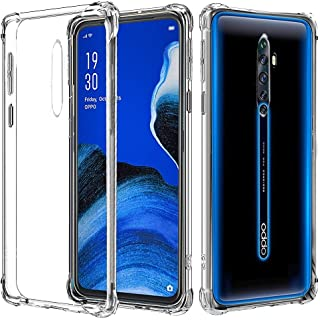 for Oppo Reno2 Z Case, Shockproof Clear Gel Heavy Duty Tough Anti Knock Air Cushion Protective Cover