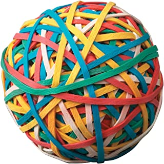 School Smart Rubber Band Ball - Multiple Colors