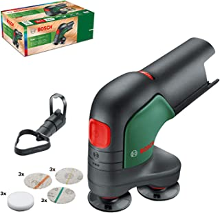 Bosch Cordless Sander and Polisher EasyCurvSander 12 (without rechargeable Battery, 12 volt System, in Carton Packaging)