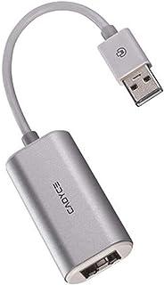 محول Cadyce USB إلى جيجابت ايثرنت (يدعم نظام التشغيل ماك او اس) (CA-U2GE)