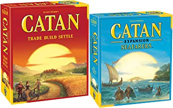 Catan 5th Edition Bundled with Catan: Seafarers Game Expansion 5th Edition