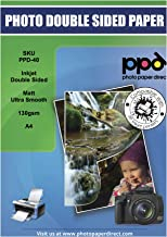 PPD Papel para folletos con acabado mate (ambos lados), para