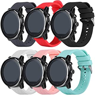 TenCloud Straps Compatible with Huawei Honor Magic Watch 2 46mm Replacement Band Silicone Sport Bands for Honor Magic 2 Sm...