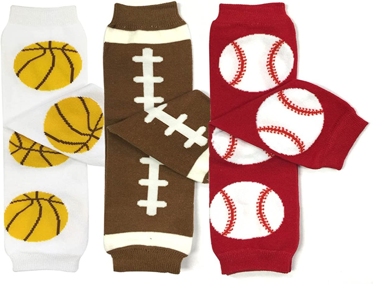 allydrew 3 Pack Sports Baby Toddler Cheap mail order shopping Warmers Leg Direct sale of manufacturer P