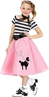 Big Girls' Poodle Skirt Dress
