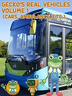 Gecko's Garage Real Vehicles Volume 1 (Cars, Ambulance, etc)