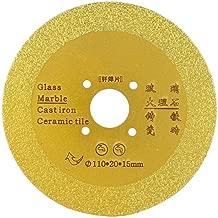 110mm Diamond Cutting Grinding Disc Brazed Saw Blade Porcelain Wheel Dry Corner Mill for Ceramic Glass Stones (#01)
