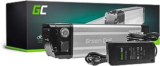 GC® Batería E-Bike 36V 14.5Ah Bicicleta Eléctrica Silverfish Li-Ion con Celdas Panasonic y Cargador Greyp Bikes Prescott Falter Marrs