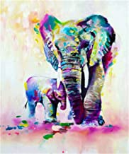 5D DIY Diamond Painting Cross Stitch Diamond Mosaic Embroidery Wall Craft Decor Elephants 12X16inch
