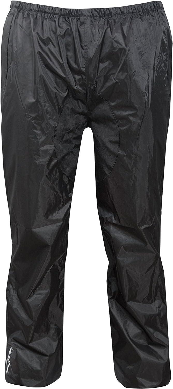 A Pro Combinaison Textile Impermeable Anti Pluie Blouson Pantalon Moto Motard Noir Xl Auto