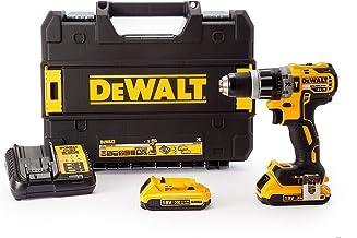Dewalt DCD796D2-GB 18 V XR. Taladro combinado sin escobillas ion de litio compacto