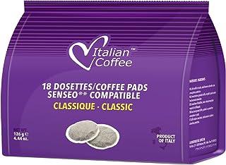 Senseo compatible pods Italian Coffee (Classic, 180 Pads)