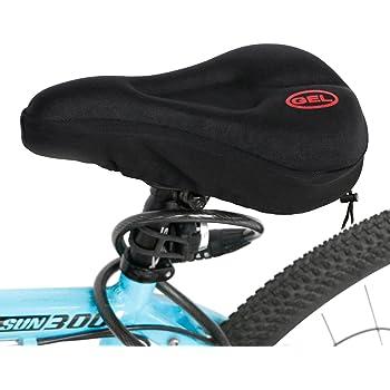 Gel Bike Sattelabdeckung Polster für Fahrräder Fahrrad Sitz Kissen mit Gel