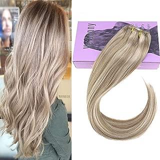 Best dark honey blonde clip in hair extensions Reviews