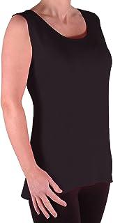 EyeCatch TM–Virginia Womens Long Top Sleeveless Big Sizes 40–60