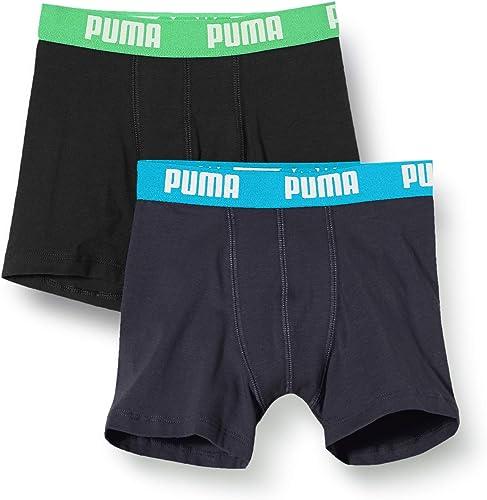 PUMA Basic Boxers Boxer (Pack de 2) para Niños