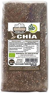 Guillermo Semillas de Chia Ecológica BIO Superalimento 100% Natural 200g