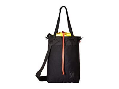 Topo Designs Cinch Tote (Black) Tote Handbags