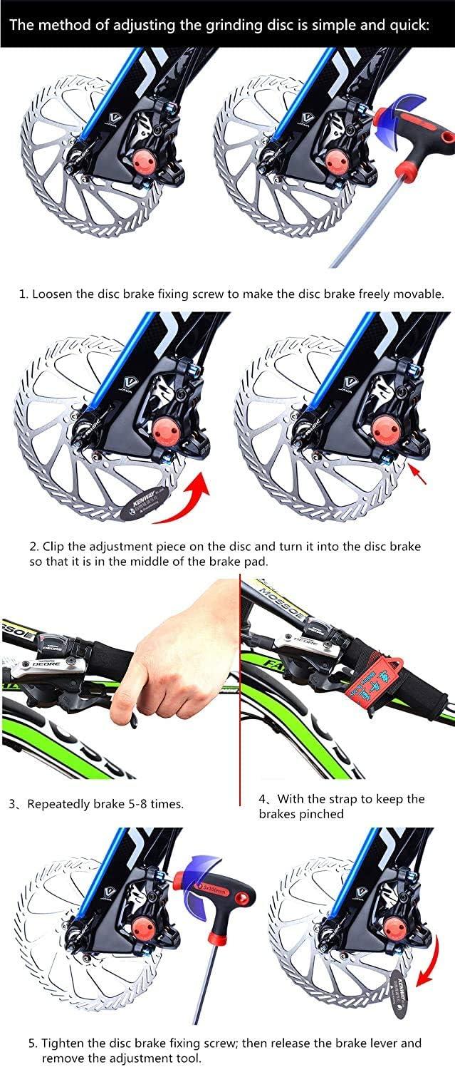 metallo Semi-metallico//Sinterizzato CYCOBYCO 4 Coppie Pastiglie Freno A Disco Per Bici Da Bicicletta Per TRP Tektro Shimano M355 M395 M485 M415 M515 M525 T615 C601 XT Br-M8000 M988