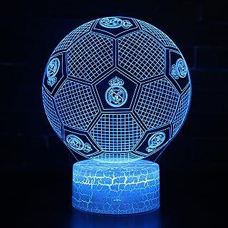 6ae8c9f1df78d 3D Illusion Nuit Lumière Win-Y LED Bureau Table Lampe 7 Couleur Tactile  Lampe Maison