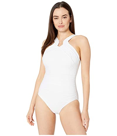 Miraclesuit Rock Solid Aphrodite One-Piece (White) Women