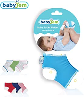 BabyJem 8699203310485 Bebek Çorap Tutucu, Pembe