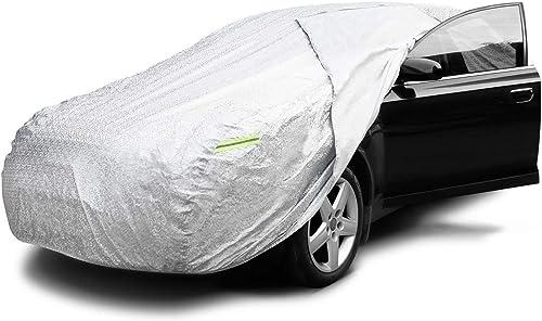 Garage del coche cubierta cubierta del coche completo para el interior del garaje de PEVA de polvo ara/ñazos y UV Subaru Impreza 3