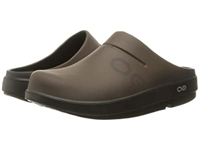 OOFOS OOcloog Luxe (Brown) Clog Shoes