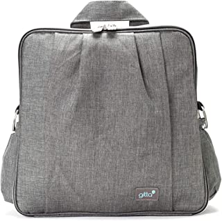 Gitta Beauty Multi Function Baby Mom Nappy Changing Diaper Bag, Black Denim by Gitta