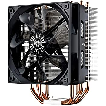 Cooler Master Hyper 212 EVO CPU Cooling System - Proven Performance - 4 Continuous Direct Contact Heat Pipes, 120mm PWM Fan