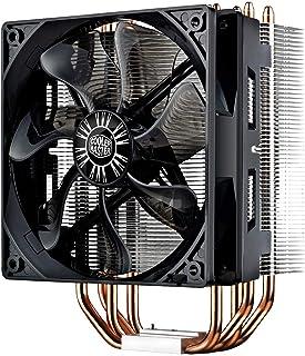 Cooler Master Hyper 212 EVO Sistema Refrigeración de CPU – Alta Prestaciones - 4 Tubos de Calor Contacto Directo Continuo, Ventilador PWM de 120 mm, Negro